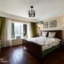 简约美式卧室灯饰图片