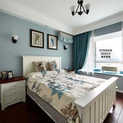 美式卧室房屋装潢图片欣赏