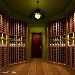 博纳酒窖展厅设计_1621508