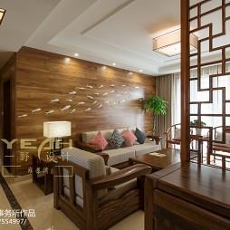 最新中式客厅背景墙设计