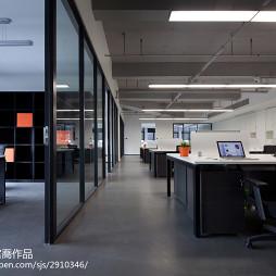 现代办公室隔断设计