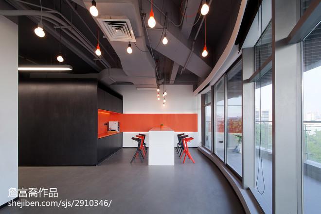 现代办公室吊顶设计图片