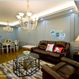 欧式客厅家居室内装饰