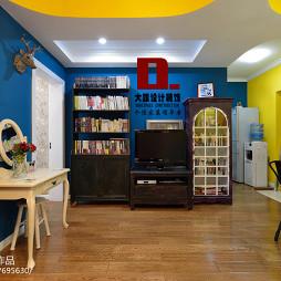 最新小户型美式客厅