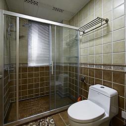 简约美式卫生间装修图