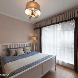 混搭风格卧室窗户装修设计