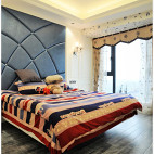 欧式风格卧室背景墙设计