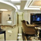 欧式风格客厅过道设计