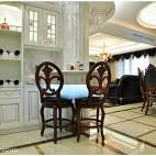 欧式风格餐厅隔断设计