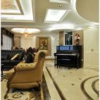 欧式风格客厅吊顶设计大全