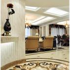 欧式风格客厅玄关设计效果图