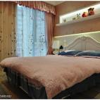 欧式风格卧室背景置物架设计