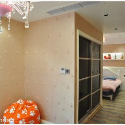 欧式风格卧室隔断设计