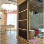 欧式风格卧室卫生间装修设计