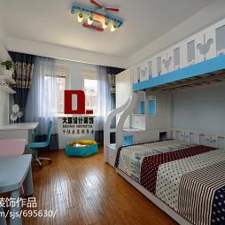 混搭儿童卧室创意吊顶设计