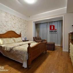 美式风格卧室阳台家装设计