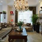 美式风格客厅家居设计