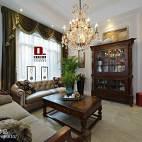 美式风格客厅窗户家装设计