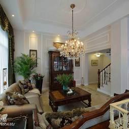美式风格客厅隔断家装设计