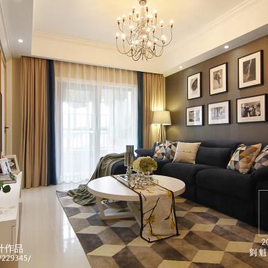 现代客厅沙发背景家装效果图
