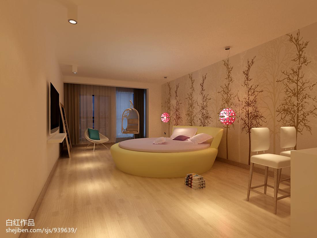 主题酒店大厅设计_公寓式酒店效果图图片 – 设计本装修效果图