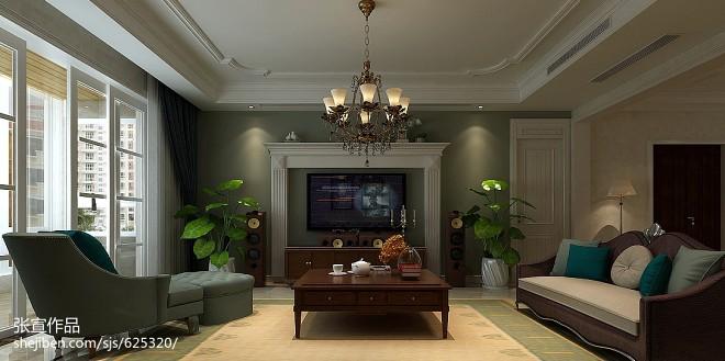 豪宅客厅装修效果图片