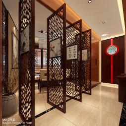 中式雕花门装修效果图