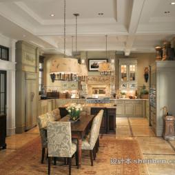 美式整体家居装修设计大全