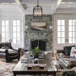 美式整体家居装修图片