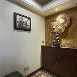 东南亚风格玄关装修设计