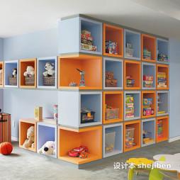 儿童房间塑料收纳盒图片欣赏