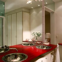 中式风格浴室台下盆欣赏