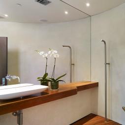 最新的浴室台盆设计效果图