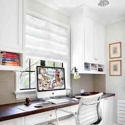 美式风格台式电脑桌欣赏