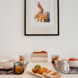 餐桌陶瓷餐具欣赏图