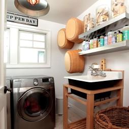 简约陶瓷洗手盆图片