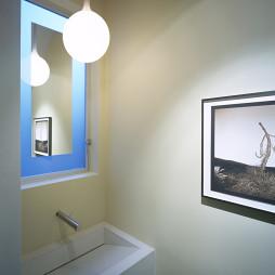 长方形简约陶瓷洗手盆欣赏