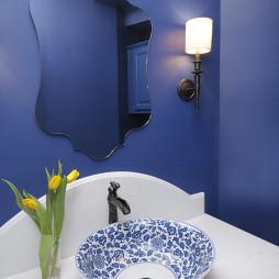 中國風陶瓷洗手盆設計圖