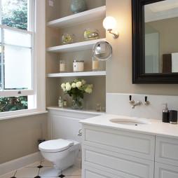 美式风格陶瓷洗手盆设计欣赏
