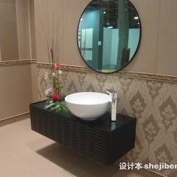 2017最新浴室陶瓷洗手盆装修图