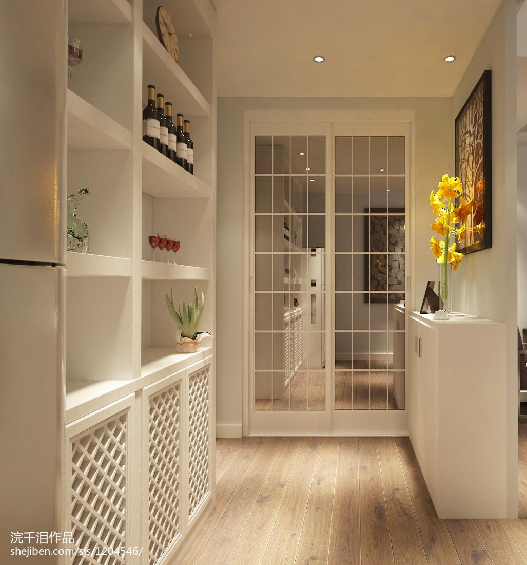 家装效果图玄关图_家装进门玄关设计效果图 – 设计本装修效果图