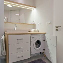 洗衣柜效果图片