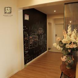 现代风格过道手绘墙装修设计大全