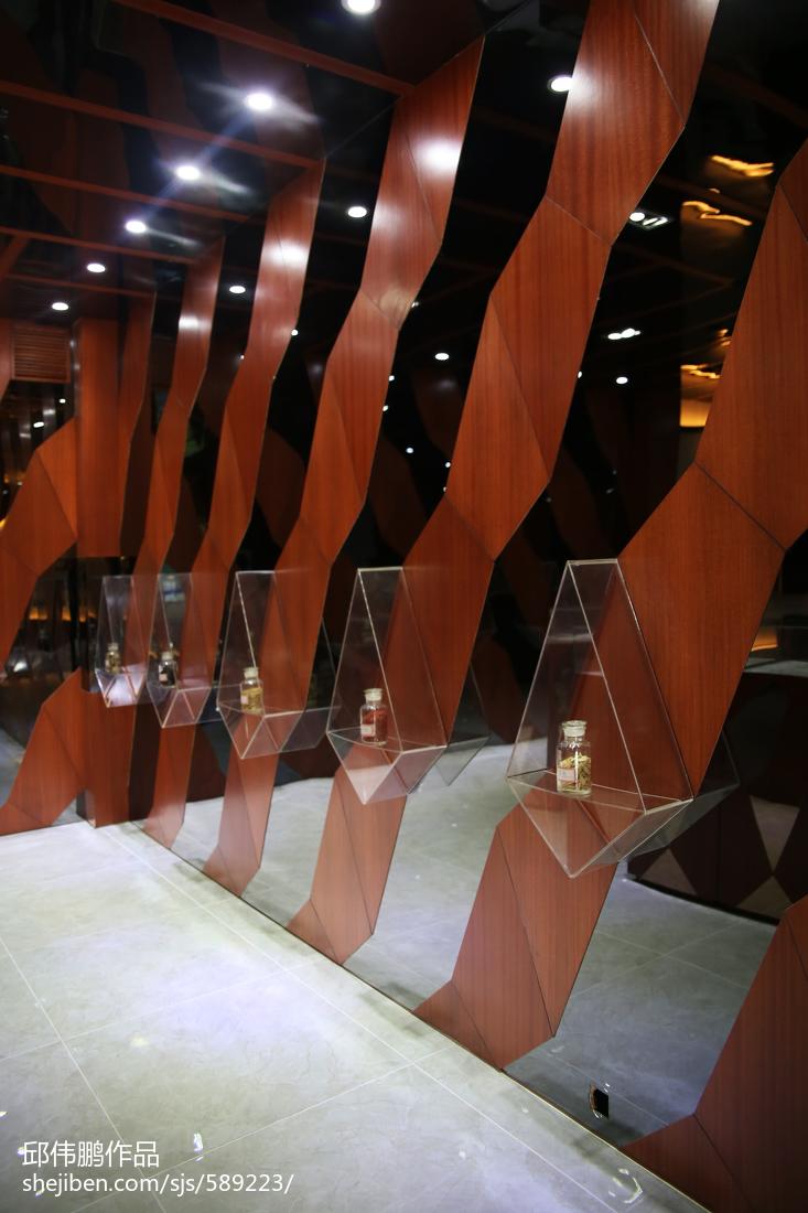 理科虫草王_商业展厅设计效果图 – 设计本装修效果图