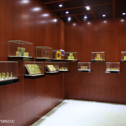 展厅展示柜设计效果图