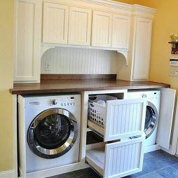洗衣柜效果图库