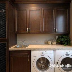 洗衣柜效果图库欣赏