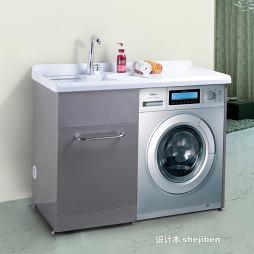 洗衣柜效果图图片欣赏