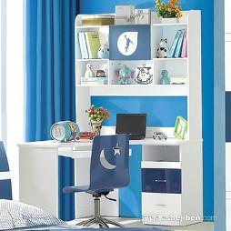 写字台书柜组合效果图集欣赏
