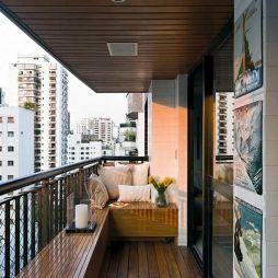 锌钢阳台护栏效果图图片